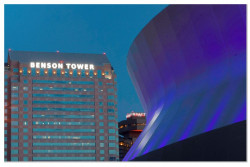 LEED Certified Benson Tower Gets Some Extracurricular Activity - News